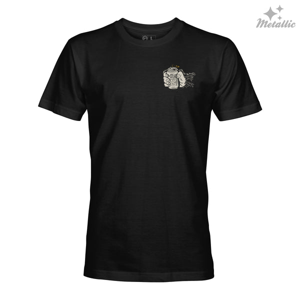 STLHD Men's Drinking Buddy Black T-Shirt - hhoutfitter