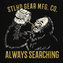 Load image into Gallery viewer, STLHD Men's Drinking Buddy Black T-Shirt - hhoutfitter