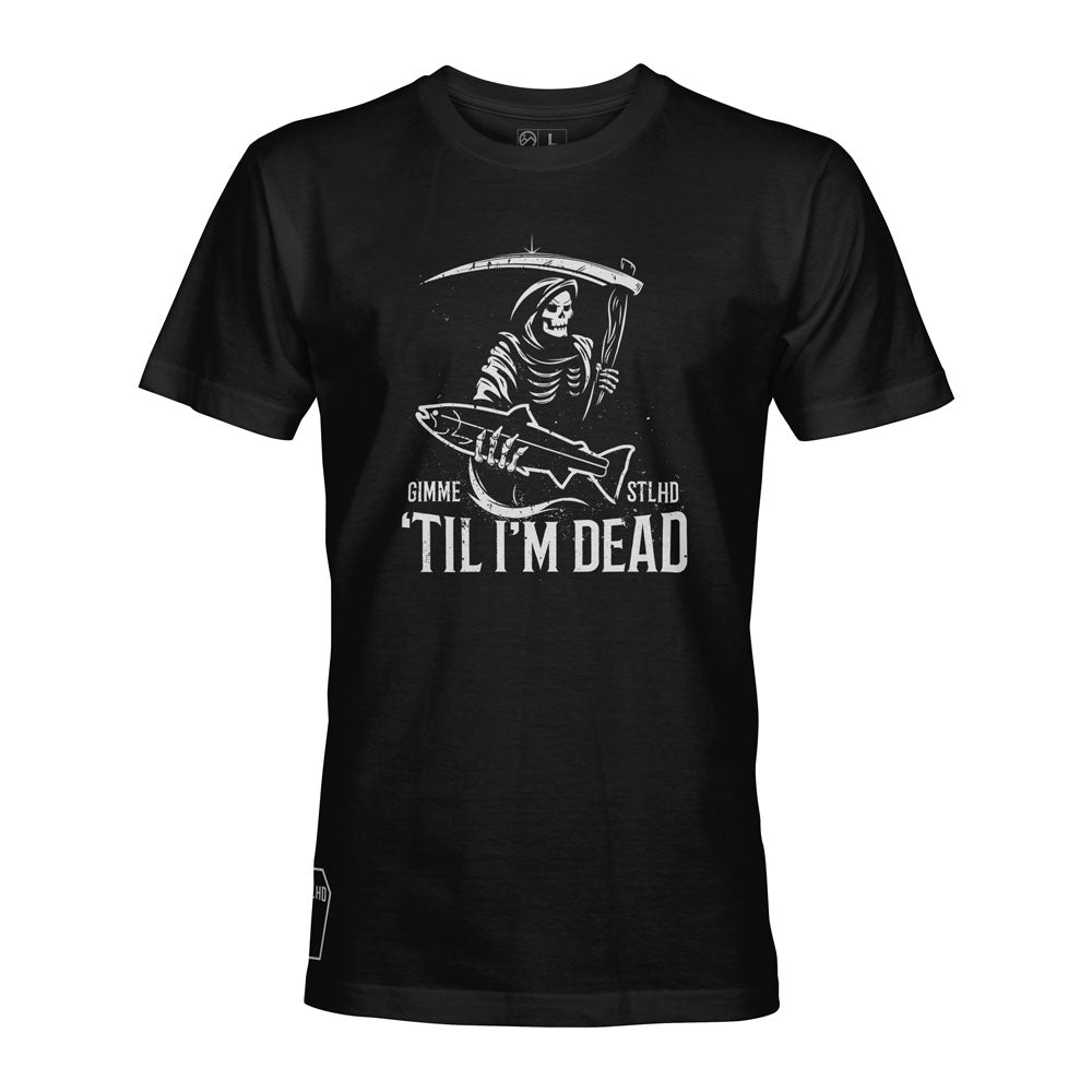 STLHD Men's Gimme STLHD Black T-Shirt - H&H Outfitters