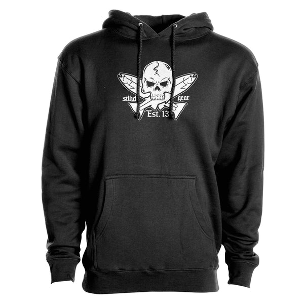 STLHD Men's Jolly Roger Premium Hoodie - Multiple Colorways - hhoutfitter