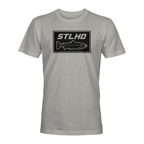 STLHD Men's Stone Dark Heather T-Shirt - hhoutfitter