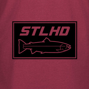 STLHD Men's Brick Cardinal T-Shirt - hhoutfitter