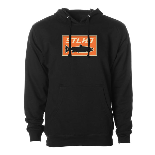 STLHD Men's Sand Bar Black Standard Hoodie - H&H Outfitters