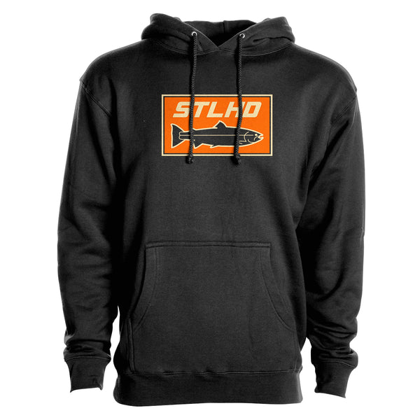 STLHD Men's Sand Bar Black Premium Hoodie - H&H Outfitters