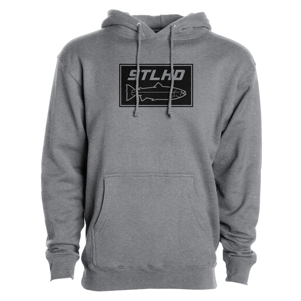 STLHD Men's Stone Gunmetal Standard Hoodie - H&H Outfitters