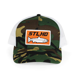STLHD Elk Creek Camo Snapback Trucker Hat - H&H Outfitters