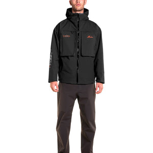 STLHD Men's Limited Edition Grundéns X STLHD Storm Rider Black Jacket - hhoutfitter