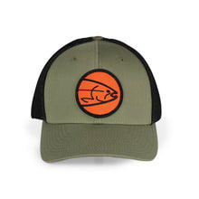 Load image into Gallery viewer, STLHD Headwaters Loden/Black Flexfit Trucker Hat - hhoutfitter