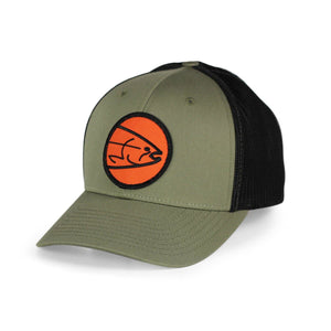 STLHD Headwaters Loden/Black Flexfit Trucker Hat - hhoutfitter