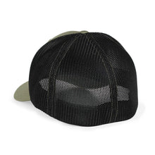 Load image into Gallery viewer, STLHD Headwaters Loden/Black Flexfit Trucker Hat - H&H Outfitters