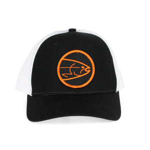 STLHD Mad River Black/White Flexfit Trucker Hat - H&H Outfitters