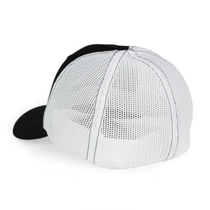 STLHD Mad River Black/White Flexfit Trucker Hat - hhoutfitter