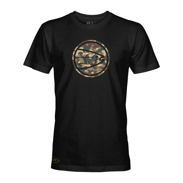 STLHD Men's Eclipse Army Black T-Shirt - hhoutfitter
