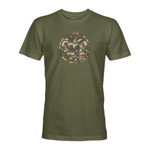 STLHD Men's Eclipse Army Military Green T-Shirt - hhoutfitter