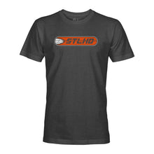 Load image into Gallery viewer, STLHD Men's Striker Charcoal T-Shirt - hhoutfitter