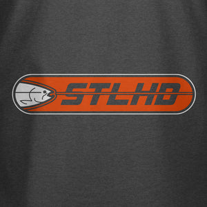 STLHD Men's Striker Charcoal T-Shirt - hhoutfitter