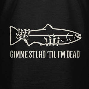 STLHD Men's 'Til I'm Dead Black T-Shirt - hhoutfitter