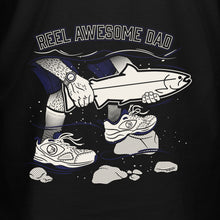 Load image into Gallery viewer, STLHD Men's Reel Awesome Dad Black T-Shirt - H&H Outfitters