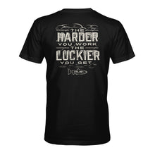 Load image into Gallery viewer, STLHD Men's Work Hard Black T-Shirt - hhoutfitter