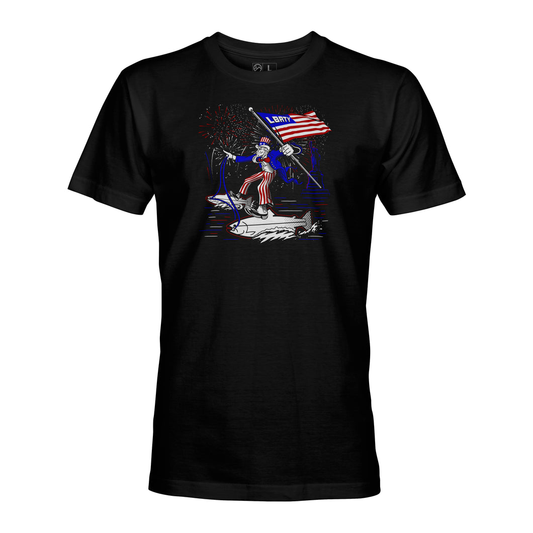 STLHD Men's Liberty Black T-Shirt - H&H Outfitters