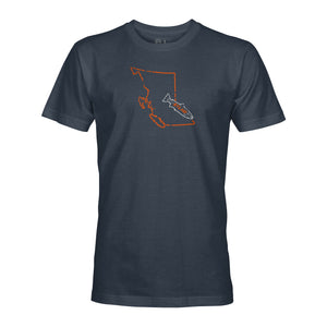 STLHD Men's British Columbia Home Water Series T-Shirt - Multiple Colorways