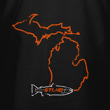 Load image into Gallery viewer, STLHD Men's Michigan Home Water Series T-Shirt - Multiple Colorways