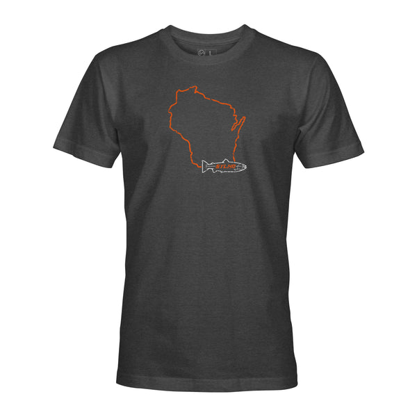 STLHD Men's Wisconsin Home Water Series T-Shirt - Multiple Colorways
