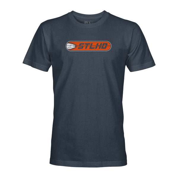 STLHD Men's Striker Navy T-Shirt