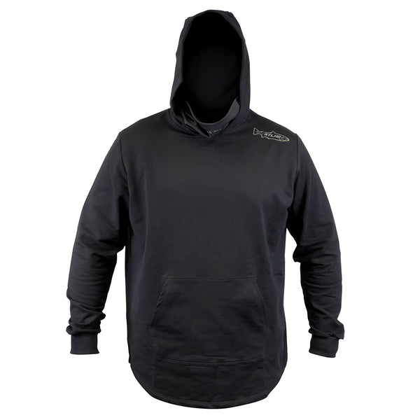 STLHD Men's River Runner Black Hoodie