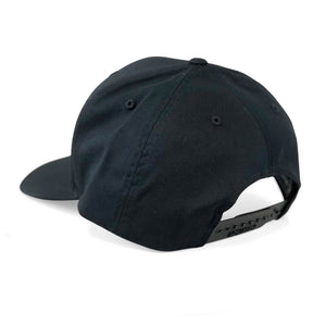 STLHD Pistol River Black Curve Bill Snapback Hat