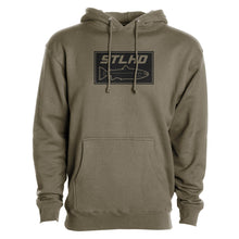 Load image into Gallery viewer, STLHD Men's Tidewater Army Green Premium Hoodie