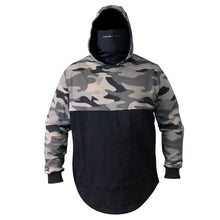 Load image into Gallery viewer, STLHD Men's River Runner Stealth Black Camo Hoodie