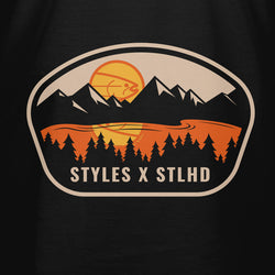 STLHD Men's Styles X STLHD Wild Out Here Black T-Shirt