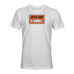 STLHD Men's Summer White T-Shirt