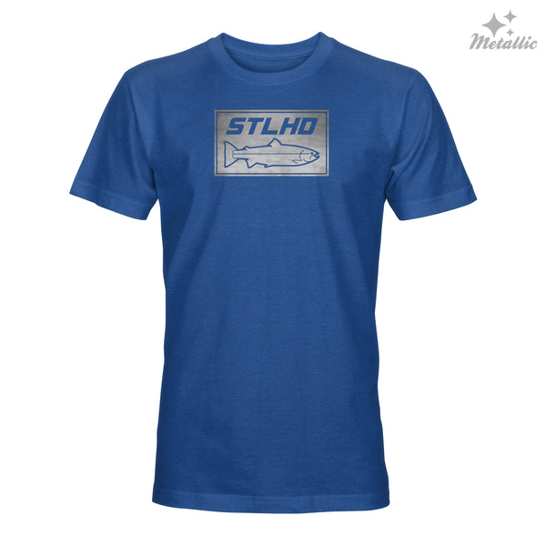 STLHD Men's Dime Bright Royal Blue T-Shirt
