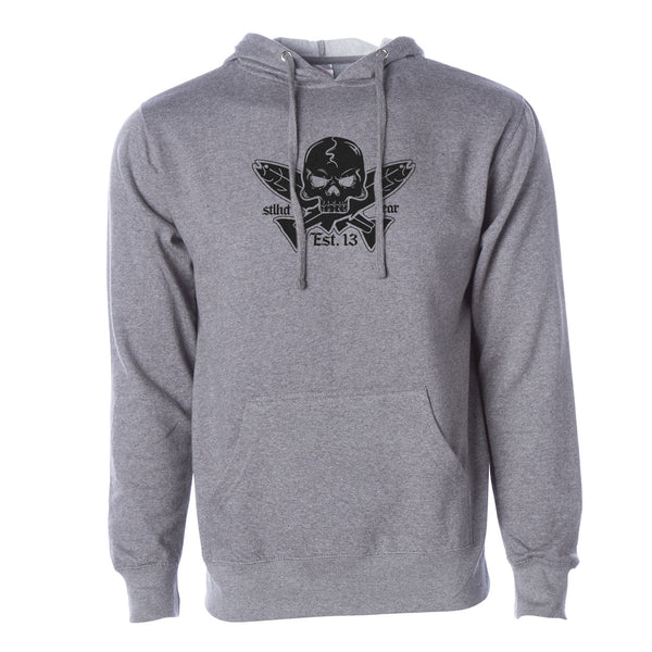 STLHD Men's Jolly Roger Standard Hoodie - Multiple Colorways - H&H Outfitters
