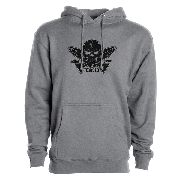 STLHD Men's Jolly Roger Premium Hoodie - Multiple Colorways - H&H Outfitters