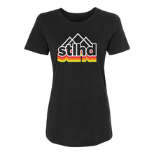 Load image into Gallery viewer, STLHD Women's Peak Black T-Shirt