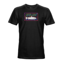 Load image into Gallery viewer, STLHD Men's Bayside Black T-Shirt