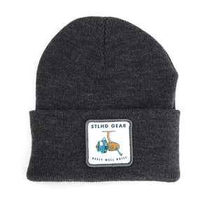 STLHD Reely Well Built Grey Beanie Knit Hat