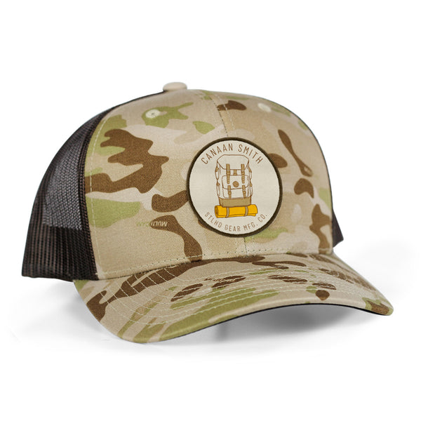 Canaan Smith X STLHD Mountaineer Camo Snapback Trucker Hat