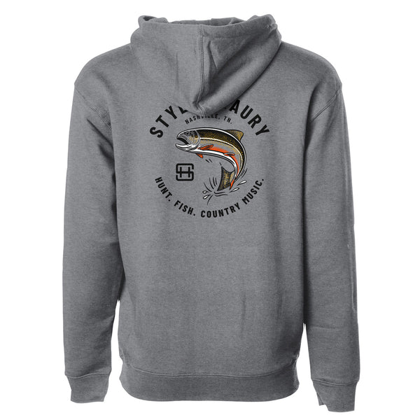 STLHD Men's Styles X STLHD Trout Country Premium Hoodie - Multiple Colorways