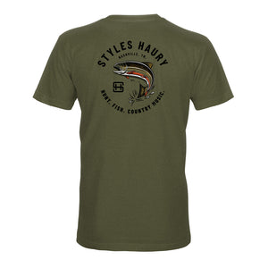 STLHD Men's Styles X STLHD Trout Country T-Shirt - Multiple Colorways