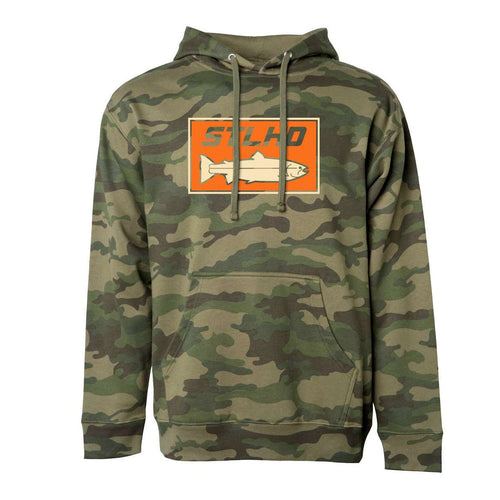 STLHD Woodlands Camo Standard Hoodie - hhoutfitter