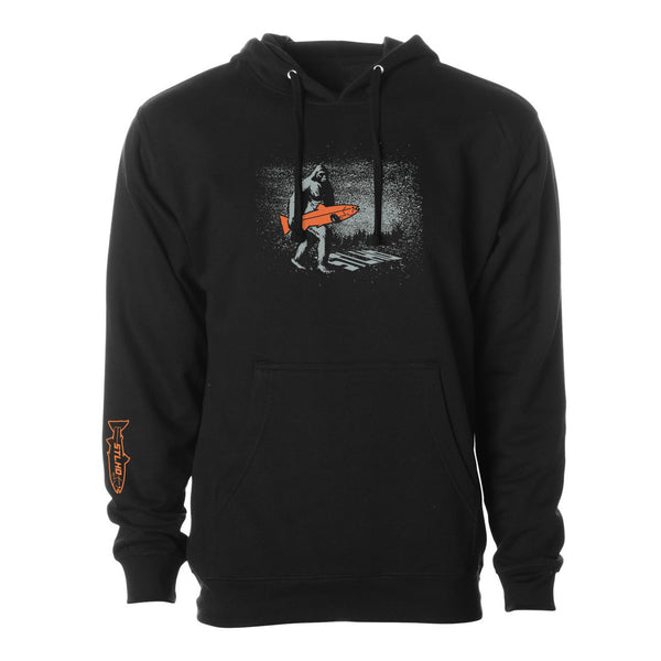 STLHD Men's Elusive Midnight Black Standard Hoodie - hhoutfitter