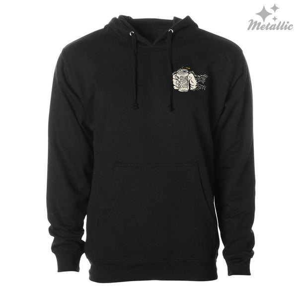 STLHD Men's Drinking Buddy Black Standard Hoodie - H&H Outfitters