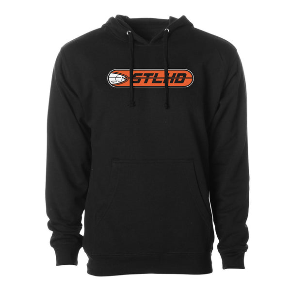 STLHD Men's Striker Black Standard Hoodie - hhoutfitter