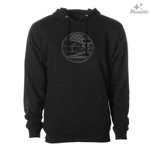 Load image into Gallery viewer, STLHD Men's Ballistic Black Standard Hoodie