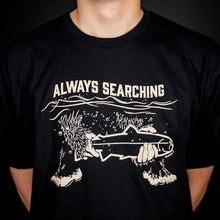 Load image into Gallery viewer, STLHD Men's Always Searching Black T-Shirt - hhoutfitter