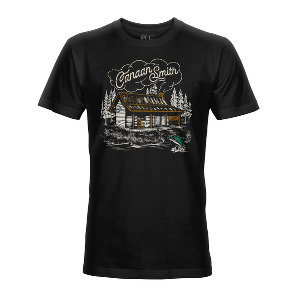 Canaan Smith X STLHD Cabin In The Woods Black T-Shirt